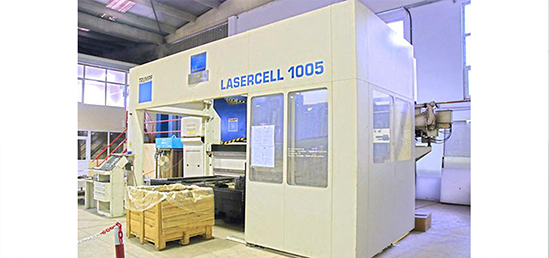 CNC TRUMPF TLC 1005 4 KW